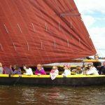 Praam segeln Friesland Gruppenausflug