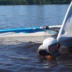 Zwaardboot zeilkamp